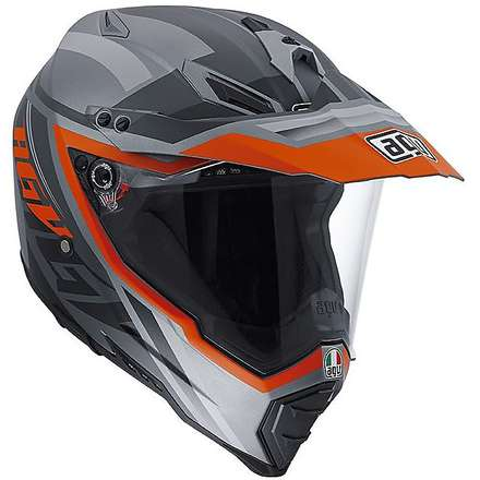 Casque Ax-8 Dual Evo Karakum camo-orange Agv
