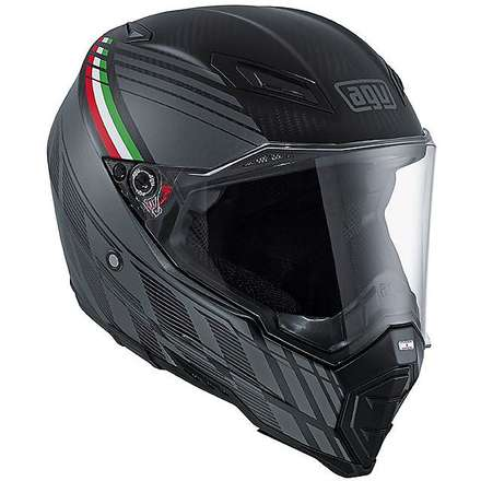 Casque Ax-8 Naked Carbon Black Forest Agv