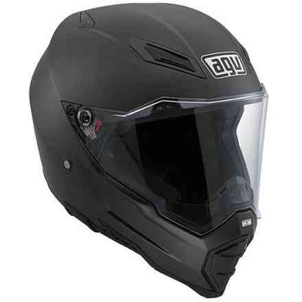 Casque Ax-8 Naked helmet Matt Carbon Agv
