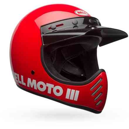 Casque Bell Moto-3 Classic Rouge Bell