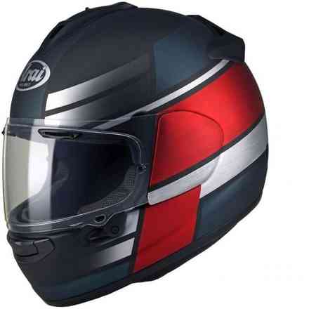 Casque Chaser-X Tone Frost rouge Arai