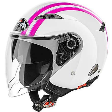 Casque City One Style rose Airoh