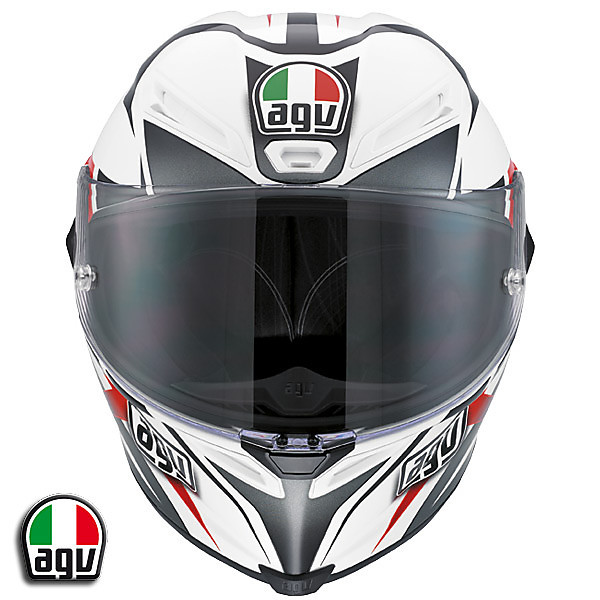 Casque Corsa VELOCITY - white/black/red Agv