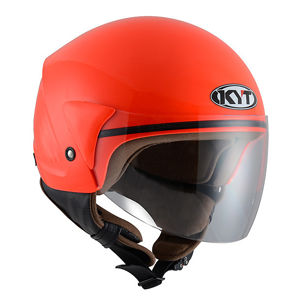 Casque Cougar rouge KYT