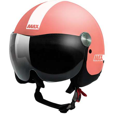 Casque D-Jet Roadie rose opaque MAX - Helmets