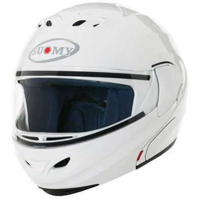 Casque D20 Plain White Suomy