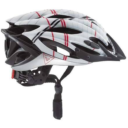 Casque de vélo Speed Air Xc blanc-rouge  Dainese