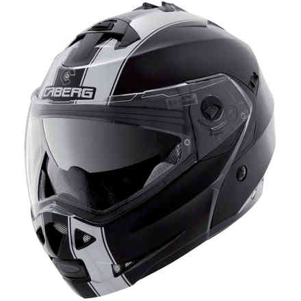 Casque Duke II Legend noir blanc Caberg