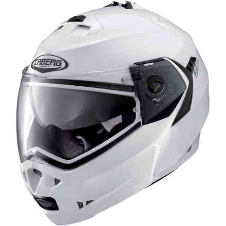 Casque Duke II metal white Caberg