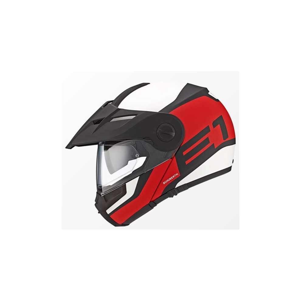 Casque E1 Guardian rouge Schuberth