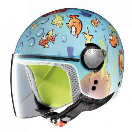 Casque enfants G1.1 Fancy Aquarium bleu Grex