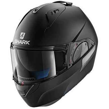 Casque Evo-One 2 Blank Mat Noir Shark
