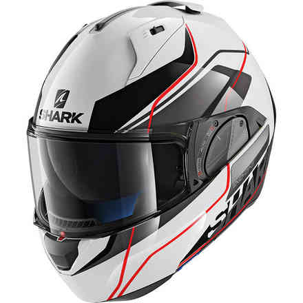 Casque Evo-One 2 Krono Blanc / Noir / Rouge Shark