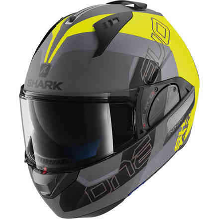 Casque Evo-One 2 Slasher Mat Anthracite Mat / Jaune Noir Shark
