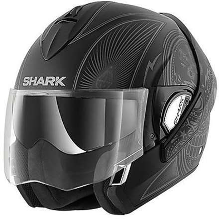 Casque Evoline 3 Mezkal Mat Shark