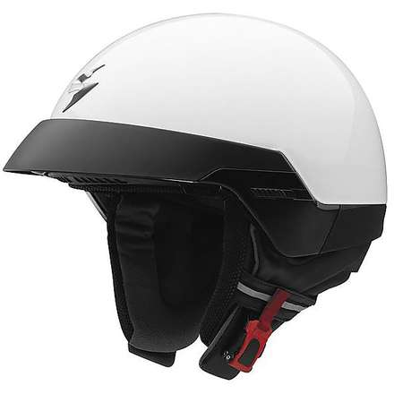 Casque Exo-100 blanc Scorpion