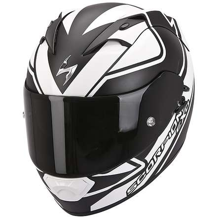 Casque Exo-1200  Air Freeway Noir Blanc Scorpion