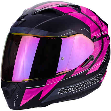 Casque Exo-1200 Air Hornet rose Scorpion