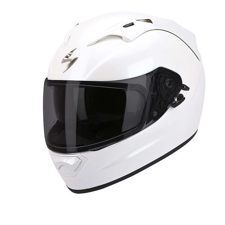 Casque Exo-1200  Air Solid Blanc Pearl Scorpion