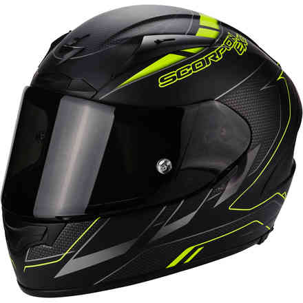 Casque Exo-2000 Evo Air Cup noir jaune Scorpion