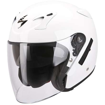 Casque Exo-220 Blanc Scorpion