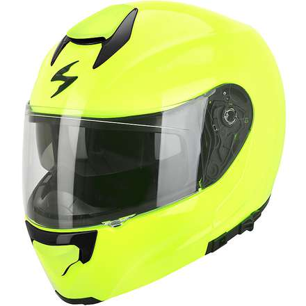 Casque Exo-3000 Air Jaune Fluo  Scorpion