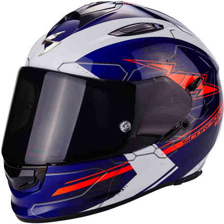 Casque Exo-510 Air Cross bleu Scorpion