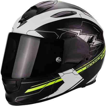 Casque Exo-510 Air Cross jaune Scorpion