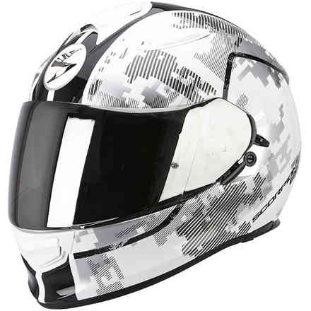 Casque Exo -510 Air Guard blanc-noir Scorpion