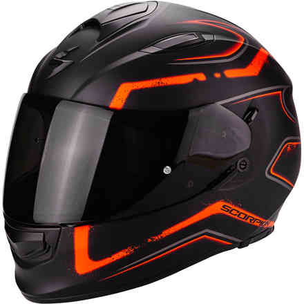 Casque Exo-510 Air Radium orange Scorpion