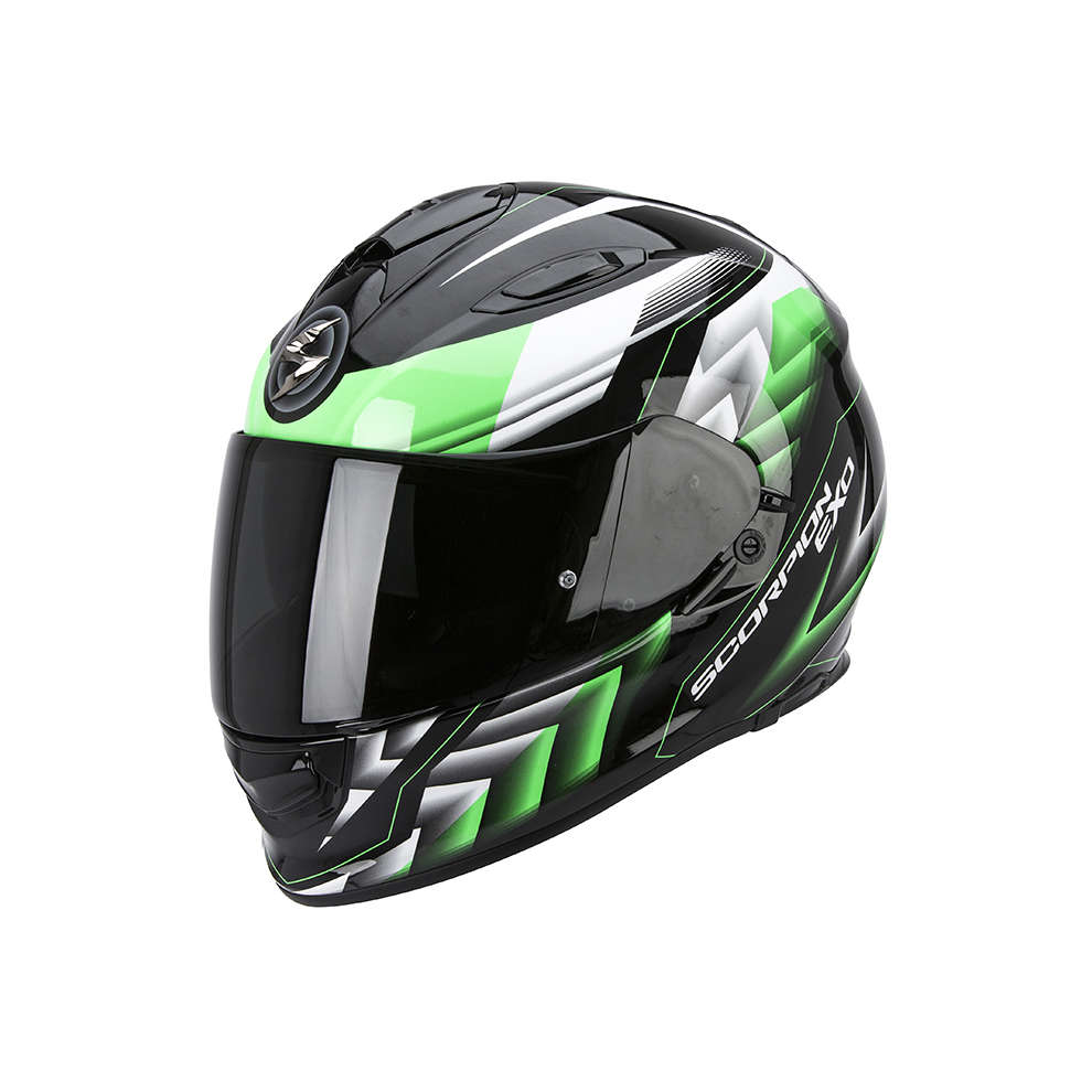 Casque Exo -510 Air Scale noir-vert Scorpion