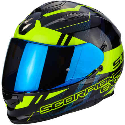 Casque Exo-510 Air Stage jaune Scorpion