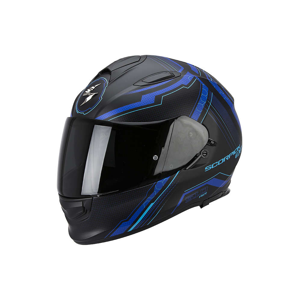 Casque Exo -510 Air Sync noir-bleu Scorpion