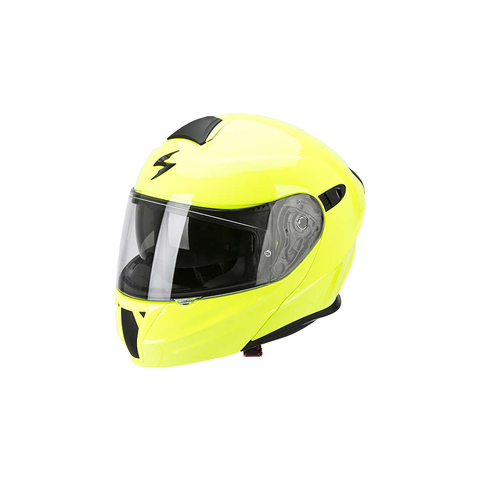 Casque Exo-920 Solid jaune neon Scorpion