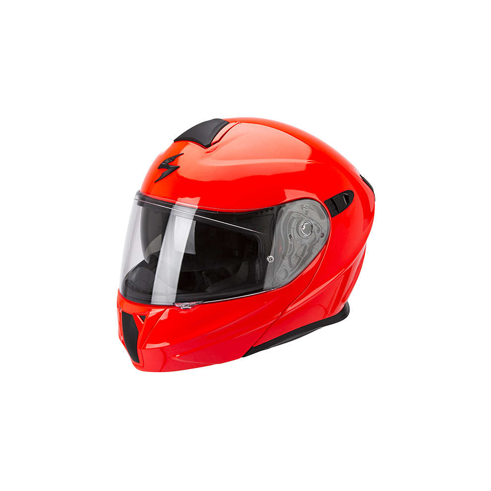 Casque Exo-920 Solid rouge neon Scorpion