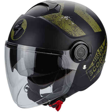 Casque Exo-City Heritage Kaki Scorpion