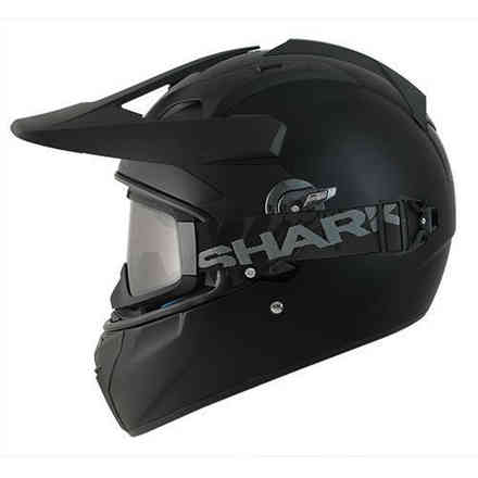 Casque Explore-R Blank Mat Shark