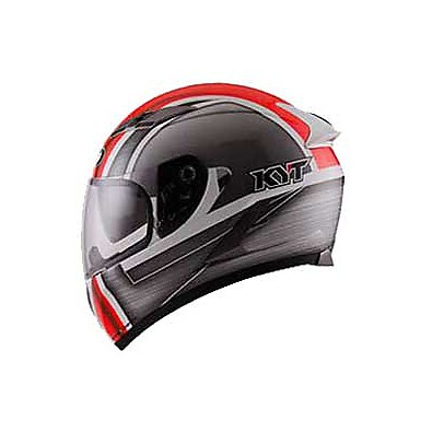 Casque Falcon Sim Blanc-Rouge KYT