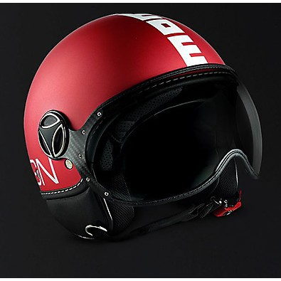 Casque  FGTR Classic Frost Rouge Momo