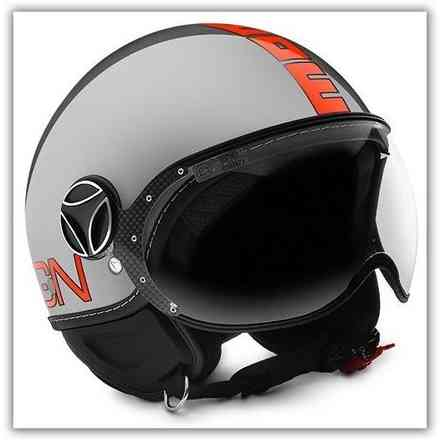 Casque Fgtr Evo Decal Orange  Momo