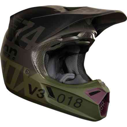 Casque Fox Racing V3 Draft Noir Fox