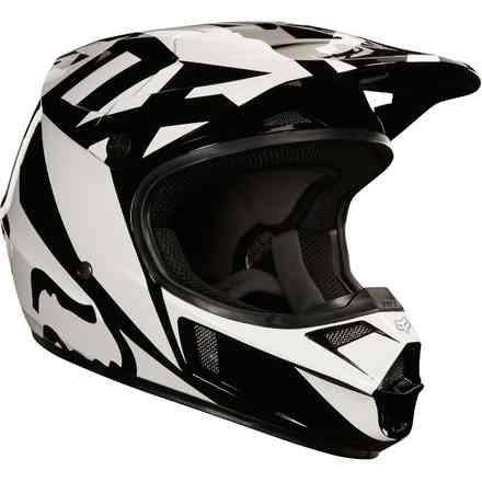 "Casque Fox Racing ""Yth V1 Race"" Noir Fox"