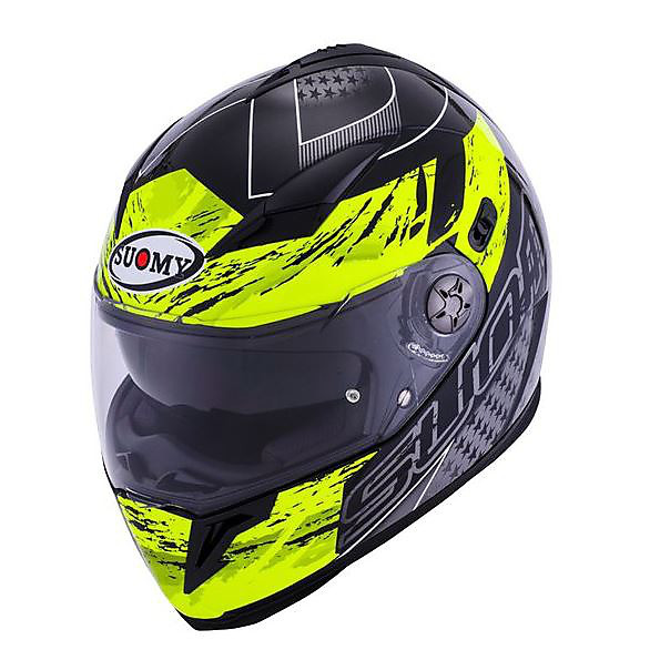 Casque Halo Drift yellow Suomy