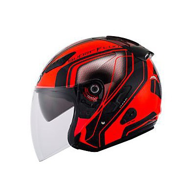 Casque Hellcat Superfluo Rouge KYT