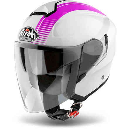 Casque Hunter Simple fuchsia Airoh