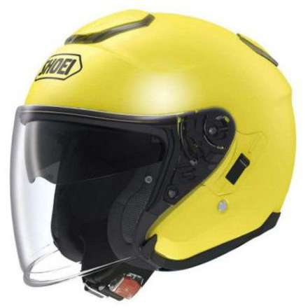 Casque J-Cruise  Brilliant Yellow Shoei