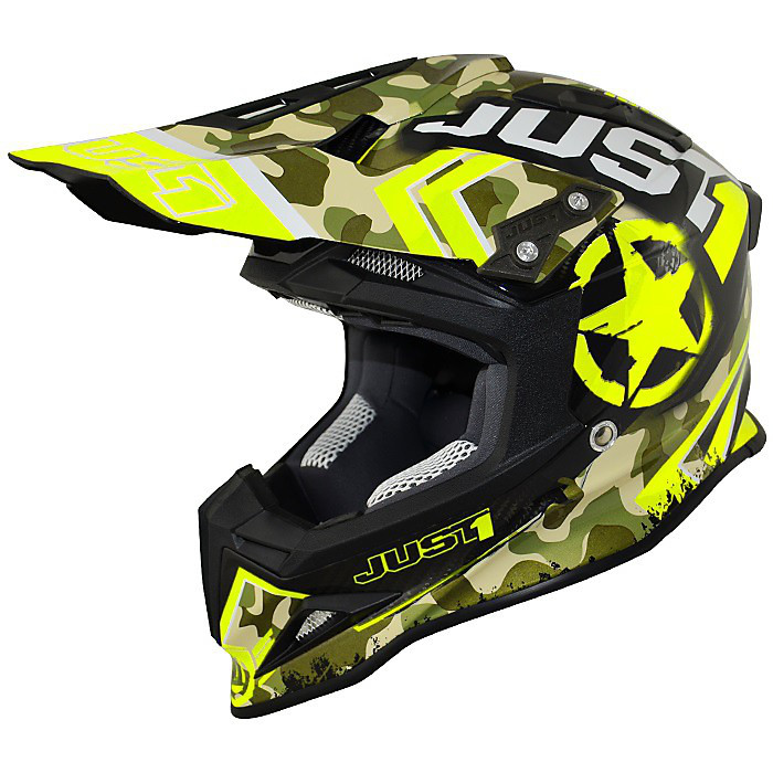 Casque J12 Combat Jaune Just1