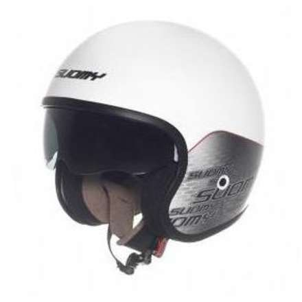 Casque Jet 70's Home White Suomy