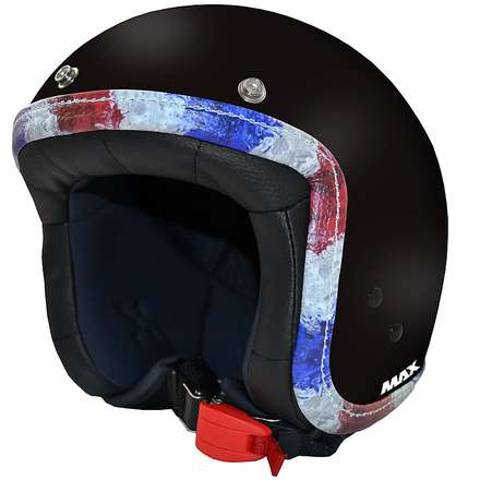 Casque Jet Flag noir mat-France MAX - Helmets