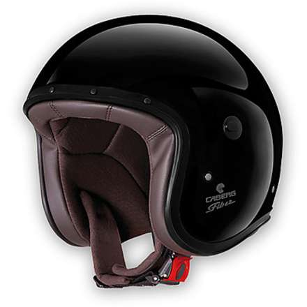 Casque Jet Freeride black painted Caberg
